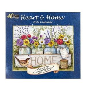 LANG カレンダー 2022 壁掛け Heart & Home Susan Winget ラング カントリー 風景 インテリア 令和4年暦 マシュマロポップ