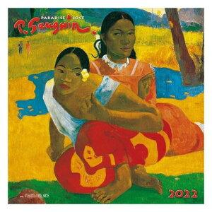 壁掛け 2022年 カレンダー PAUL GAUGUIN ポール ゴーギャン TUSHITA アート 名画 インテリア 令和4年暦 マシュマロポップ