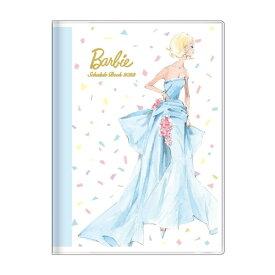B6 ウィークリー ブック バービー 手帳 2022 ロバートベスト ブルー Barbie サンスター文具 スケジュール帳 10月始まり 週間 ダイアリー 令和4年 手帖 マシュマロポップ