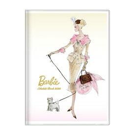 B6 ウィークリー ブック バービー 手帳 2022 ロバートベスト アイボリー Barbie サンスター文具 スケジュール帳 10月始まり 週間 ダイアリー 令和4年 手帖 マシュマロポップ