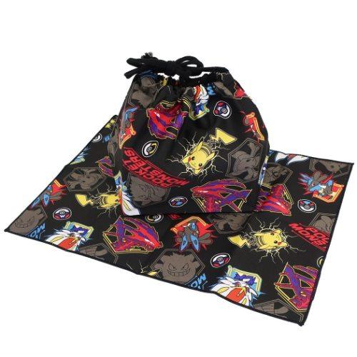 ランチ袋セットポケモンランチクロス付きランチ巾着2021SSポケットモンスターマルヨシ新学期準備雑貨メール便可マシュマロポップ