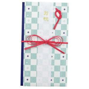 和ごころ 小桜市松 御祝儀袋 短冊 中封筒付き 一般お祝い 可愛い熨斗袋 水引 金封