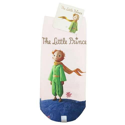 【レディースプリントソックス】 星の王子さま リトルプリンス 女性用靴下 星の王子さま スモールプラネット 22〜24cm キャラックス ティーンズ雑貨通販【メール便可】【あす楽】マシュマロポップ