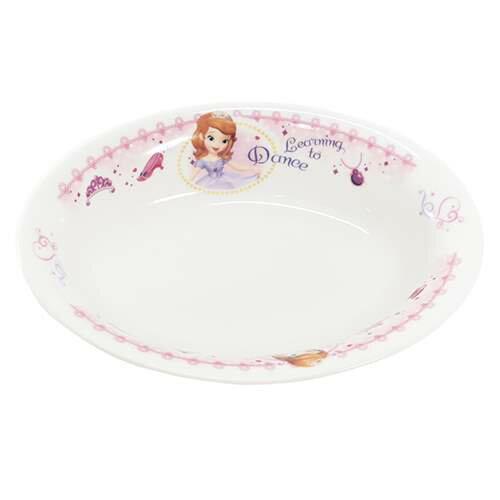 ちいさなプリンセス ソフィア キッズ食器 こどもカレー皿 ディズニー 金正陶器 18×13×4cm 日本製 ファンシー雑貨