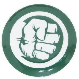 ハルク 小皿 ミニプレート マーベル サンアート 直径10.5cm アメコミ キャラクターグッズ MARVELCorner