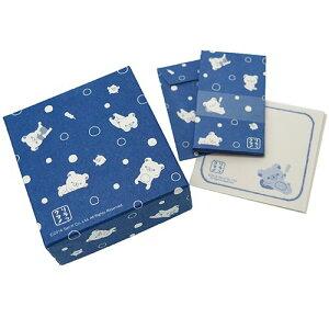 リラックマ レターセット 和紙箱入り箋 小 水玉 サンエックス フロンティア 封筒+便箋 キャラクターグッズ