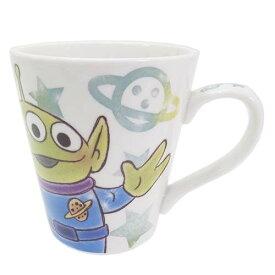 トイストーリー エイリアン コップ 陶器製マグカップ ファジー柄 ディズニー ティーズファクトリー 食器 キャラクターグッズ