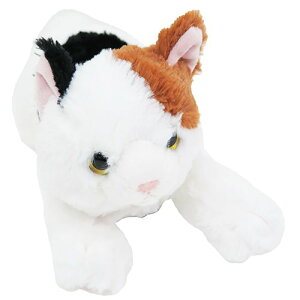 ぬいぐるみ S 三毛猫 ひざねこ ぬいぐるみ サンレモン 36cm ギフト 雑貨 かわいいグッズ マシュマロポップ