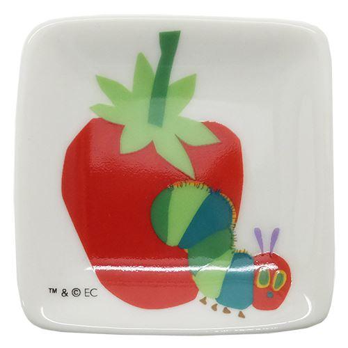【プチ角小皿】はらぺこあおむしミニプレートエリックカール金正陶器5.5×5.5cm日本製食器絵本ティーンズ雑貨通販【メール便可】【あす楽】マシュマロポップ【TIK】