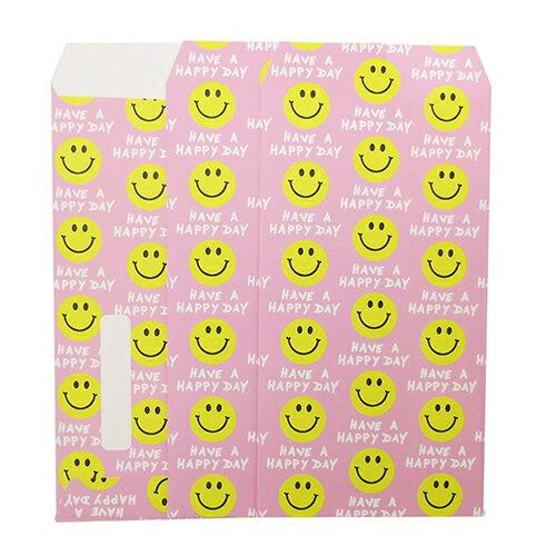 【長札 金封 L 3枚セット】 SMILE YELLOW&PINK ポチ袋 オクタニコーポレーション おとしだま袋 封筒 おもしろ雑貨グッズ通販【メール便可】【あす楽】マシュマロポップ