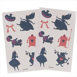 ボディシール ハロウィン ふしぎの国のアリス デコシール ディズニー S & Cコーポレーション BODYデコ 仮装 パーティー ティーンズ ジュニア メール便可 マシュマロポップ