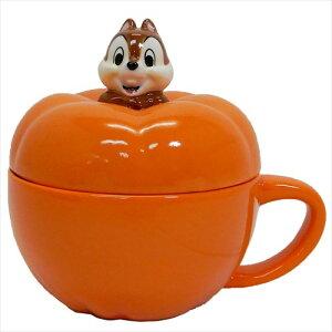 かぼちゃスープカップ Chip チップ & デール ふた付き マグカップ ディズニー サンアート 230ml ギフト食器 ティーンズ ジュニア マシュマロポップ