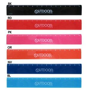 スリム15cm 定規 OUTDOOR アウトドアプロダクツ ものさし OUTDOOR PRODUCTS サンスター文具 小学生 中学生 プチギフト スポーツブランドグッズ メール便可 マシュマロポップ