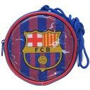 【丸型 ネックパース】 バルサ FCバルセロナ ポシェット サッカー サンアート 子供用 お財布 フットボール 男の子向け…