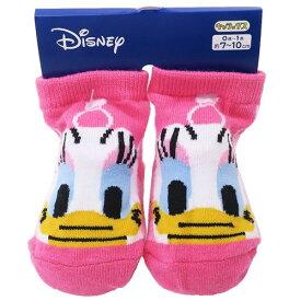 ベビー ソックス アップチェック デイジーダック 新生児はじめての 靴下 ディズニー スモールプラネット 7-10cm 赤ちゃん靴下 ティーンズ ジュニア マシュマロポップ