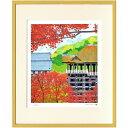 はり たつお 京都秋の清水寺 はり たつお 風景画 美工社 額装品 ギフト 装飾インテリア 取寄品 マシュマロポップ