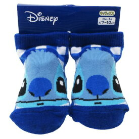 ベビー ソックス アップチェック スティッチ 新生児 はじめての 靴下 ディズニー スモールプラネット 7-10cm 赤ちゃん靴下 ティーンズ ジュニア マシュマロポップ