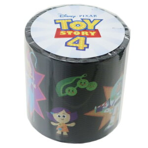 YOJOテープ トイストーリー 4 45mm デザイン 養生テープ ディズニー デルフィーノ ビッグ マステ 幅広梱包テープ ティーンズ ジュニア マシュマロポップ