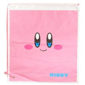 ポリ ナップサック フェイス 星のカービィ ビニール バッグ Nintendo サンアート ビーチバッグ キッズ バッグ ティーンズ ジュニア メール便可 マシュマロポップ