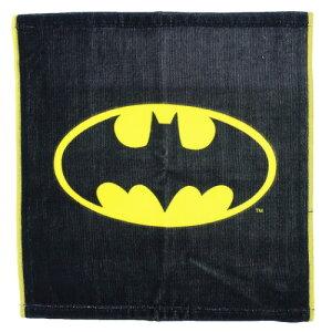 ウォッシュタオル バットマン ロゴ BATMAN ハンドタオル DCコミック スモールプラネット ギフト 雑貨 ティーンズ ジュニア メール便可 マシュマロポップ