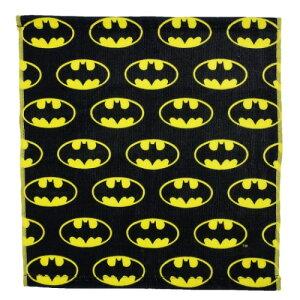 ウォッシュタオル バットマン ロゴ ちらし BATMAN ハンドタオル DCコミック スモールプラネット ギフト 雑貨 ティーンズ ジュニア メール便可 マシュマロポップ