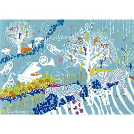 Kayo Horaguchi stary night 1 ホラグチ カヨ インテリア パネル 美工社 ZKH-52555 80×60×4cm フレームレス キャンバスアートインテリア【取寄品】マシュマロポップ