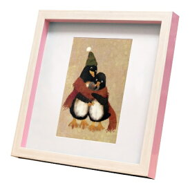 nao Square Frame ペンギン だいすき 菜生 アートフレーム 美工社 ZNO-61833 ギフト 額付き インテリア 取寄品 マシュマロポップ