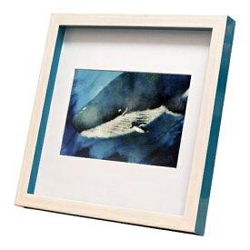 nao Square Frame ペンギン お話聞かせて 菜生 アートフレーム 美工社 ZNO-61839 22.3×22.3×2.5cm ギフト 額付き インテリア【取寄品】マシュマロポップ