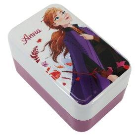 2段 ランチボックス アナ アナと雪の女王2 お弁当箱 ディズニー ヤクセル 日本製 ギフト 雑貨 ティーンズ ジュニア マシュマロポップ