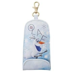 伸びる 鍵カバー オラフ アナと雪の女王2 リール式 キーケース ディズニー Disney SHO-BI プレゼント ティーンズ ジュニア かわいい グッズ メール便可 マシュマロポップ