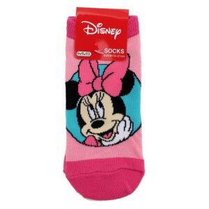ジュニア ソックス サークル ミニーマウス 小学生用 靴下 ディズニー スモールプラネット 15-21cm ティーンズ ジュニア かわいい グッズ メール便可 マシュマロポップ