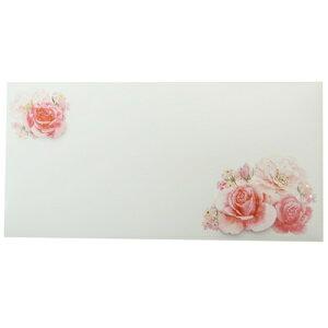 ギフト 金封 KP-14464 熨斗袋 FLOWER クローズピン 大人可愛い メッセージカード付き ご祝儀袋グッズ メール便可 マシュマロポップ