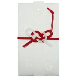 絹巻金封 KP-14376 ご祝儀袋 熨斗袋 クローズピン ニ万円位 中封筒 短冊付き ご結婚祝いグッズ メール便可 マシュマロポップ