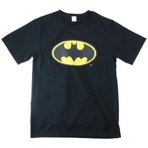 Tシャツ バットマン T-SHIRTS ロゴ BK DCコミック スモールプラネット プレゼント 半袖 マシュマロポップ