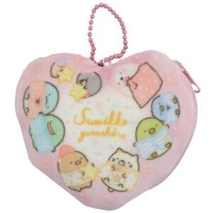 コインケース すみっコぐらし 小銭入れ ハート サンエックス ケイカンパニー プレゼント かわいい 女の子向け マシュマロポップ