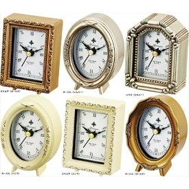取寄品 置き時計 クロック アンティークスタイル おしゃれ 大人カワイイ 雑貨 インテリア