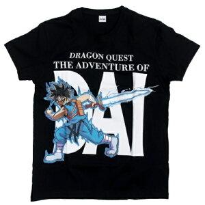 Tシャツ ドラゴンクエスト ダイの大冒険 半袖T-SHIRTS ダイ ブラック スクウェアエニックス イントゥコーポレーション プレゼント メール便可 マシュマロポップ