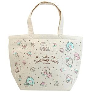 保冷バッグ すみっコぐらし 帆布 クーラー トート L 星 サンエックス ケイカンパニー お買い物かばん かわいい 女子向け マシュマロポップ m-2105sm100円引きクーポン