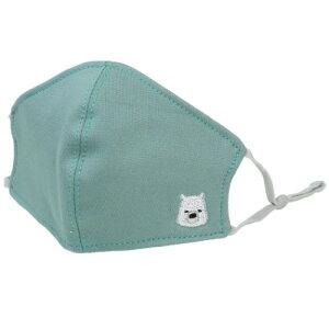 花粉&PM2.5対応フィルター3枚付き 子供用 フィルターマスク 衛生雑貨 しろくま ユニック 夏用布マスク プレゼント マシュマロポップ