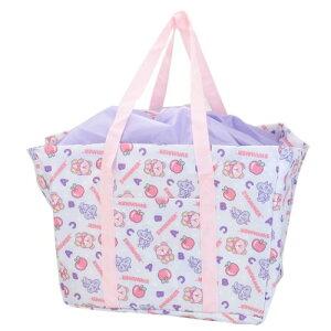 レジかごエコバッグ SWIMMER スイマー お買い物バッグ りんご パープル ケイカンパニー お買い物かばん かわいい 女子向け マシュマロポップ m-2105bg100円引きクーポン
