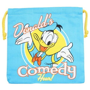 巾着袋 ドナルドダック きんちゃくポーチ コメディ ディズニー スモールプラネット 小物入れ かわいい 女の子向け メール便可 マシュマロポップ