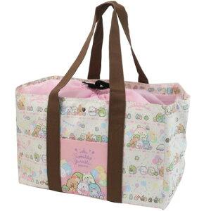 エコバッグ すみっコぐらし 保温保冷 レジかご ショッピングバッグ たぴおかパーク サンエックス ジェイズプランニング お買い物かばん レジバッグ かわいい マシュマロポップ