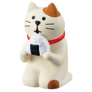 旅猫 マスコット おむすび猫 concombre デコレ インテリア プレゼント かわいい マシュマロポップ