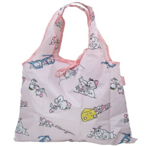 エコバッグ トムとジェリー 折りたたみ ショッピングバッグ ピンク ワーナーブラザース マリモクラフト プレゼント かわいい マシュマロポップ
