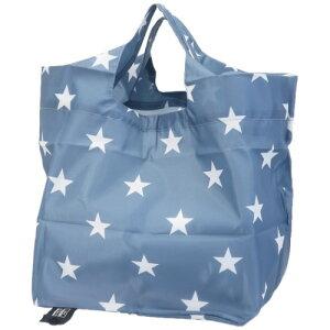 エコバッグ コンビニ弁当ショッピングバッグ 星 カミオジャパン 底板付き お買い物かばん 折りたたみ コンパクト かわいい マシュマロポップ