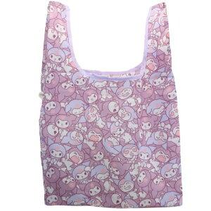 折りたたみ ショッピングバッグ M クロミ エコバッグ ぎゅうぎゅう サンリオ マリモクラフト お買い物かばん マシュマロポップ