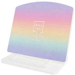 本立て 折りたたみ スリム ブックスタンド グラデーション カミオジャパン タブレットスタンド 書見台 データホルダー マシュマロポップ