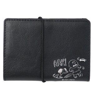 カードホルダー スヌーピー 合皮 カードファイル AAK ピーナッツ マリモクラフト カードケース 16枚収納可能 メール便可 マシュマロポップ