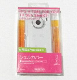 スマホケース《REGZA Phone IS04 クリア》スマートフォンカバーau 保護フィルム付