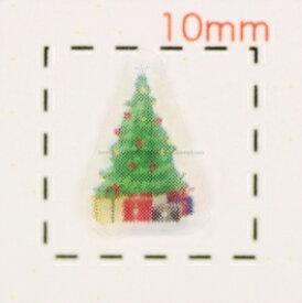 Christmasツリー【クリスマス ネイル&デコシール】(3)/1シート9枚入